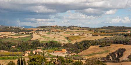 tuscany landscape: Tuscany, landscape Stock Photo