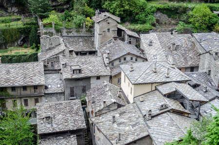 bard: Bard, Valle d Aosta Stock Photo