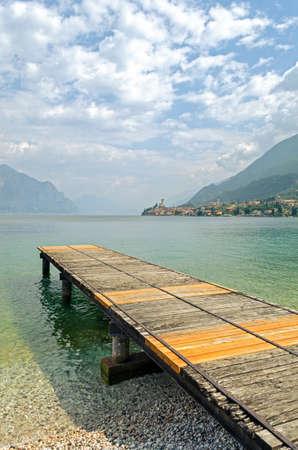 veneto: Lake Garda, Town of Malcesine (Veneto, Italy)