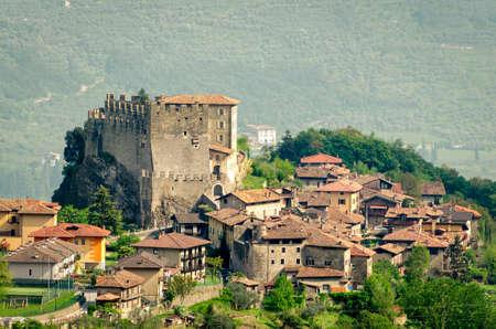 alto adige: Tenno, Trentino Alto Adige (Italy), village and castle