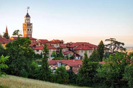 saluzzo: Saluzzo, Piedmont (Italy) Stock Photo