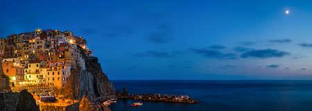 extra large: Manarola, Cinque Terre (Italian riviera), extra large panorama 7000x2500px