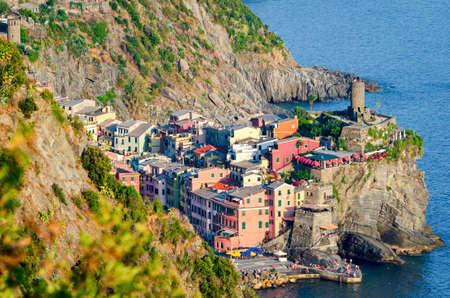 vernazza: Vernazza, Cinque Terre (Italian Riviera, Liguria)