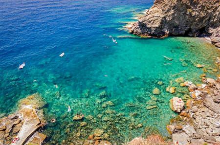 ''cinque terre'': Corniglia, Guvano beach (Cinque Terre, Italy)