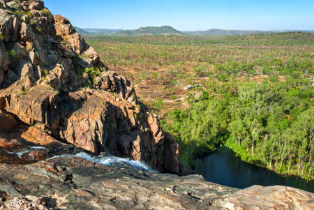 Kakadu National Park (Northern Territory Australia) landscape near Gunlom lookout