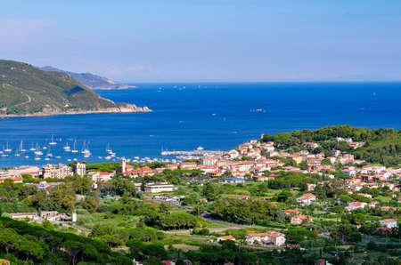 campo: Marina di Campo Isola dElba Italy) Stock Photo