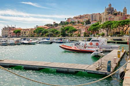 porto: Imperia Porto Maurizio (Liguria Italy)