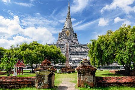 thong: Ayutthaya (Thailand) Wat Phu Khao Thong