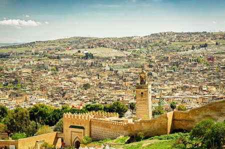 fez: Fez (Morocco) panorama
