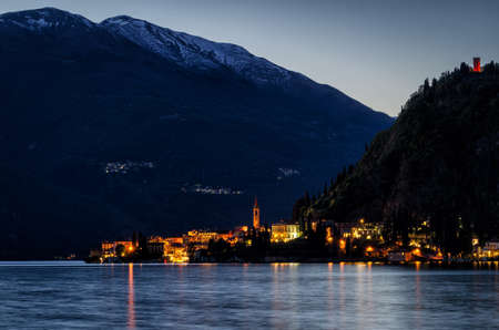 morning blue hour: Lago di Como (Lake Como) Varenna