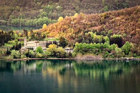 abbazia: Piona Abbey, Lake Como (lago di como)