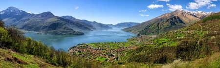 high definition: Lago di Como (Lake Como) high definition panorama