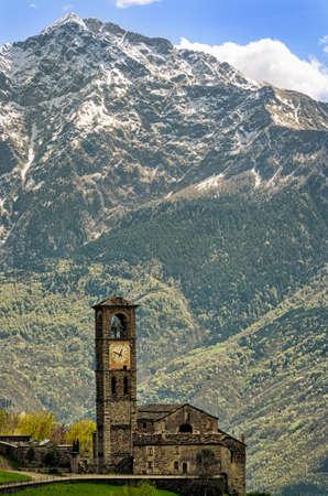 di: Peglio (Lago di Como) Chiesa di S. Eusebio e Vittore