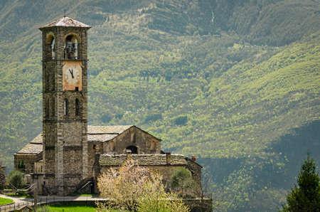 chiesa: Peglio (Lago di Como) Chiesa di S. Eusebio e Vittore