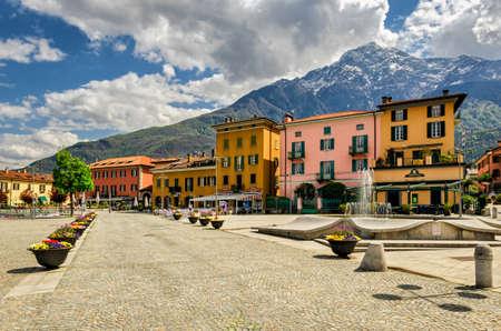 como: Lago di Como (Lake Como) Domaso Stock Photo