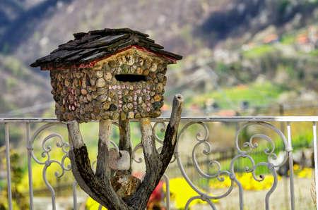 postbox: Stone Postbox