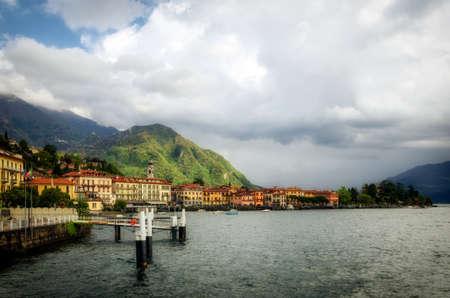 como: Lago di Como (Lake Como) Menaggio Stock Photo