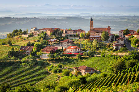 le: Treiso (Le Langhe) Stock Photo