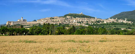 Assisi (Umbria) high definition panorama
