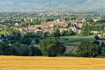umbria: Bevagna (Umbria) Stock Photo