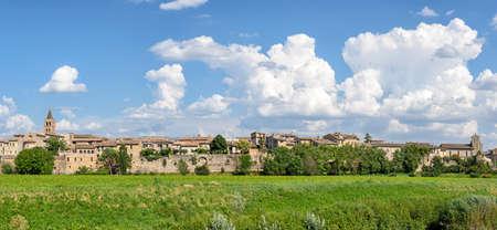 umbria: Bevagna (Umbria) high definition panoramic