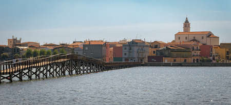 definition high: Lesina high definition scenic view with the sea (Puglia, Italy)