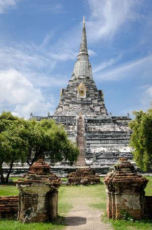 phu: Ayutthaya (Thailand) Wat Phu Khao Thong