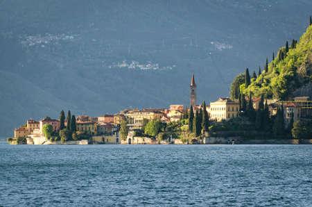 Varenna Lago di Como Stock Photo