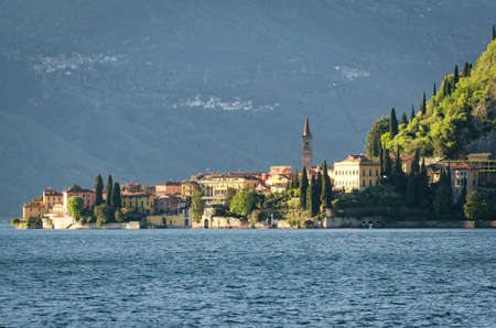 di: Varenna Lago di Como Stock Photo
