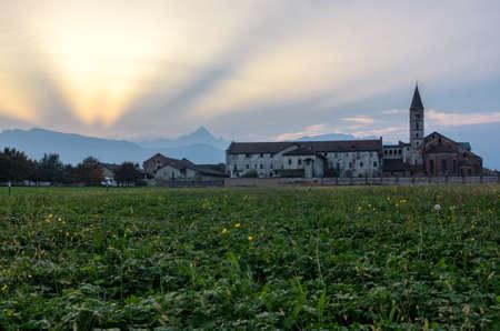 abbazia: Abbazia di Staffarda Piedmont