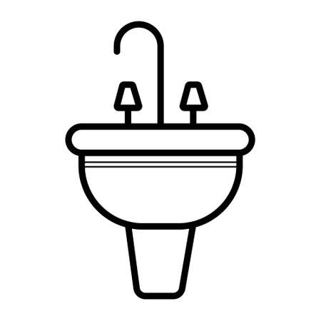 Sink vector icon Banque d'images - 102629086