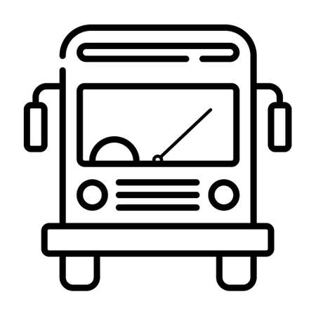 school bus icon Vectores