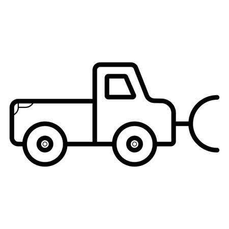 Snow Plow Truck - Download Free Vectors, Clipart Graphics & Vector Art