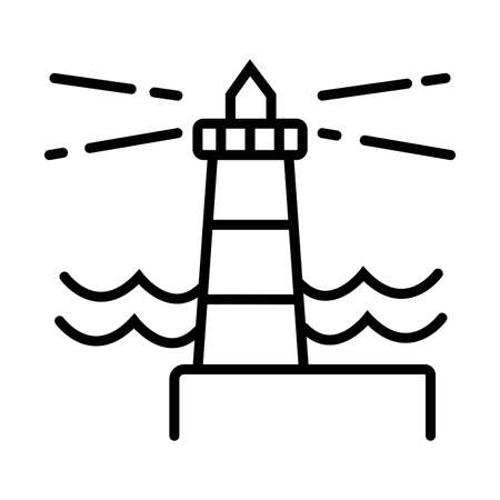 Vector icon Lighthouse