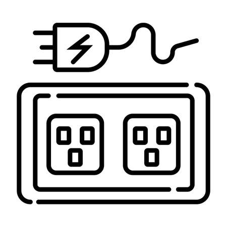 plug socket icon Vector