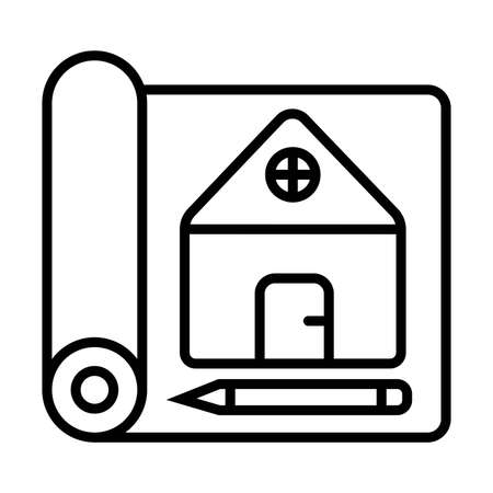 blueprint vector icon