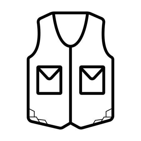 life vest, vector