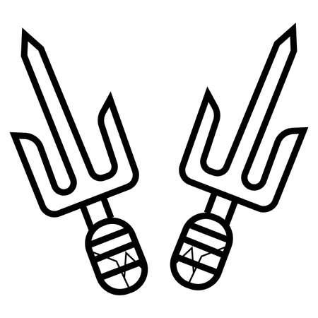 Pair of Sai icon