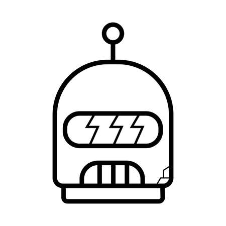 robot icon vector