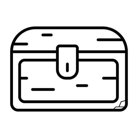 Treasure chest storage box