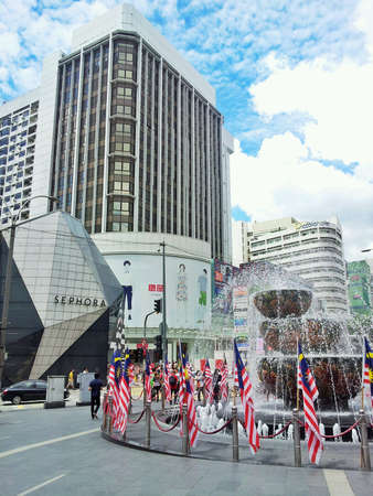bukit: BukIt Bintang Stock Photo