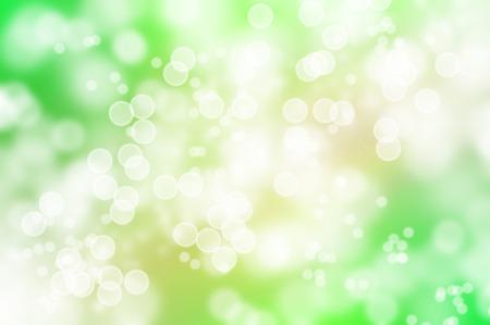 de focus: spring bokeh background with blur bright bubbles