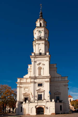 Town Hall of Kaunas in Town Hall Square at the heart of the Old Town, Kaunas, Lithuania  photo