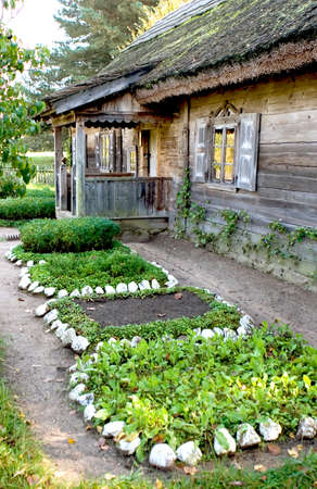 Rumsiskes ethnographic museum in Lithuania
