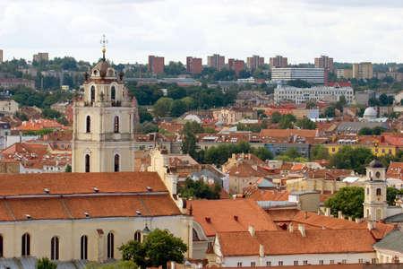 vilnius: Vilnius cityscape Stock Photo