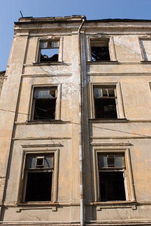 unkept: Abandoned house Editorial