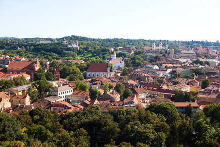 oldtown: Vilnius old-town cityscape, Lithuania