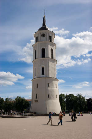 sainthood: Belfry of Vilnius Cathedral