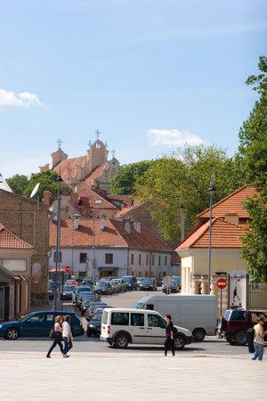 vilnius: Vilnius old-town