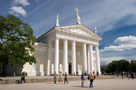 sainthood: Vilnius Cathedral